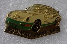 Pin's Porsche 911 . Rallye . Sodimac Renov'car - Porsche