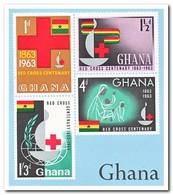 Ghana 1963, Postfris MNH, 100 Years Red Cross - Ghana (1957-...)
