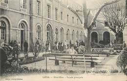 CPA 53 Mayenne Laval Hotel Dieu Façade Principale - Laval