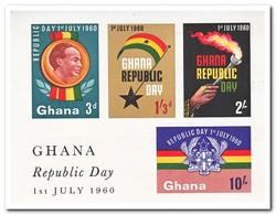 Ghana 1960, Postfris MNH, Republic Day - Ghana (1957-...)