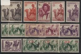 MAUR 3 - MAURITANIE 15 Val. Neufs**/* Ou Obl. - Mauritanie (1906-1944)