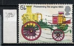 Grande Bretagne - Great Britain - Großbritannien 1974 Y&T N°722 - Michel N°647 (o) - 5,5p Pompe De 1863 - 1952-.... (Elizabeth II)