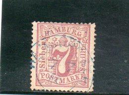 HAMBOURG 1864-5 O - Hambourg