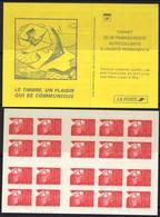 FRANCE Carnet 3419-C4 ** MNH Non Plié Marianne Du 14 Juillet Vendu Sous La Faciale 21 € - Booklets