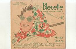 °°°    CATALOGUE POUR VETEMENTS DE POUPEES BLEUETTE ANNEE 38/39  DESSINS MANON IESSEL    °°° - Autres Collections