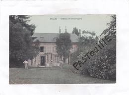CPA :   -   BELLEU  -  Château De Beauregard - France