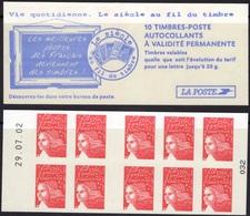 FRANCE Carnet 3419-C7 ** MNH Non Plié Marianne Du 14 Juillet Vendu Sous La Faciale 10,50 € - Booklets