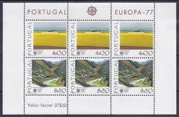 EUROPA CEPT - PORTUGAL 1977 (Hoja Bloque) - MNH ** - Europa-CEPT