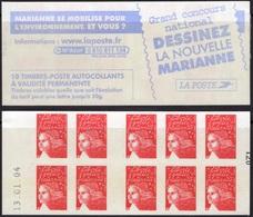 FRANCE Carnet 3419-C13 ** MNH Non Plié Marianne Du 14 Juillet Vendu Sous La Faciale 10,50 € - Booklets