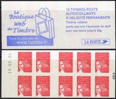 FRANCE Carnet 3419-C16 ** MNH Non Plié Marianne Du 14 Juillet Vendu Sous La Faciale 10,50 € - Booklets