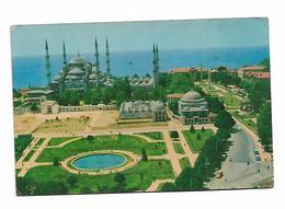 Turkey Sultanahmet Mosque Blue Instanbul - Turkey