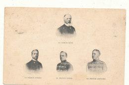 PERSONNAGES )) COMTE D EU  / PRINCE PIERRE / PRINCE LOUIS / PRINCE ANTOINE  ** - Storia