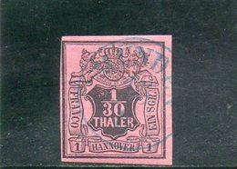 HANOVRE 1851 O - Hanovre