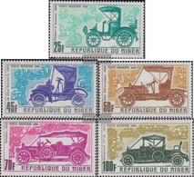 Niger 214-218 (complete Issue) Unmounted Mint / Never Hinged 1969 Old Automobile - Niger (1960-...)