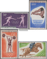 Niger 189-192 (complete Issue) Unmounted Mint / Never Hinged 1968 Olympics Summer - Niger (1960-...)