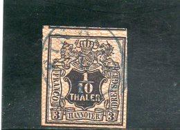HANOVRE 1856 O SIGNE' - Hanovre