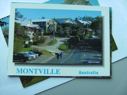 Australië Australia Queensland Montville Main Street - Australië