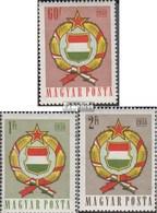 Hongrie 1528A-1530A (complète.Edition.) Neuf Avec Gomme Originale 1958 Modification Le Constitution - Nuovi