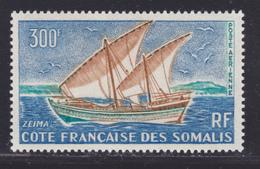 COTE DES SOMALIS AERIENS N°   40 ** MNH Neuf Sans Charnière, TB  (D8333) Voilier, Zeima -1964 - Nuevos