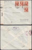 IRAN LETTRE 21/01/1941 DE TEHERAN VERS BERLIN CENSURE (6G23580) DC-1757 - Iran