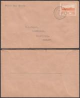 "JERSEY LETTRE 2D 1943 ""JERSEY CHANNEL ISLAND "" 1er JOUR (5G) DC-1760 - Jersey"