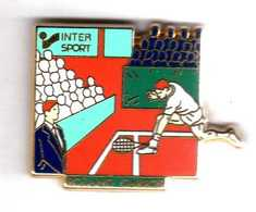 Pin's  Roland Garros  Intersport Zamac Arthus Bertrand Paris - Arthus Bertrand