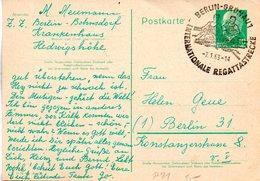 "DDR Gzs-Postkarte  P71 WSt. ""Walter Ulbricht 10 Pf. Grün"", SST 7.1.1963 BERLIN-GRÜNAU 1 - DDR"