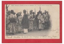 VIET-NAM -- TONKIN -- MANDARINS EN TENUE DE CEREMONIE --1903 -- - Vietnam