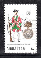 Gibraltar 1973 Mi Nr 304, Militair Uniform - Gibraltar
