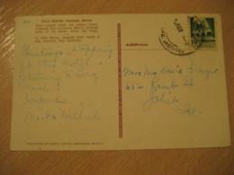 ENSENADA Stamp Cancel Villa Marina Post Card MEXICO Mejico - Mexico