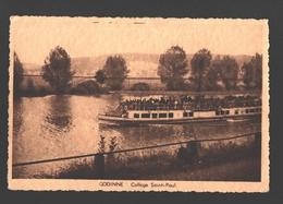 Godinne - Collège Saint-Paul - Bateau Touriste - Yvoir