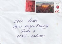 GOOD BELGIUM Postal Cover To ESTONIA 2019 - Good Stamped: King ; Art - Belgium