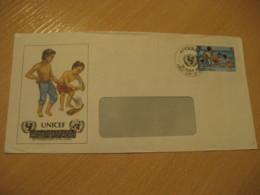 ANGUILLA 1981 UNICEF FDC Cancel Cover British Area West Indies - Anguilla (1968-...)