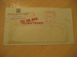 GEORGETOWN 1969 Royal Bank Of Canada Cancel Meter Mail Cover GUYANA British Area - Guyane (1966-...)