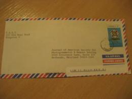 LIGUANEA Kingston 1993 To Bethsada USA Masonry Freemasonry Master Stamp Cancel Air Mail Cover JAMAICA British Area - Jamaique (1962-...)