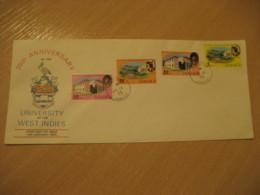 KINGSTON 1975 University FDC Cancel Cover JAMAICA British Area West Indies - Jamaique (1962-...)