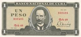 Cuba  1 Peso 1979 UNC - Cuba