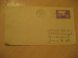 CHARLOTTE AMALIE 1937 To San Antonio USA FDC Cancel Cover VIRGIN ISLANDS West Indies British Area Puerto Rico - Antillen
