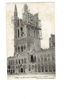 Cpa Belgique - Beffroi YPRES - Guerre 1914-1915 - Après Le Bombardement - Travaux échafaudage - Edit Valere S. - Belgium
