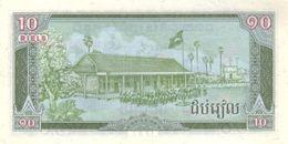CAMBODIA P. 34a 10 R 1987 UNC - Cambodia