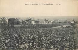 CPA 78 Yvelines Seine Et Oise VIROFLAY VUE GENERALE - Villa Villas Non Circulée - Viroflay