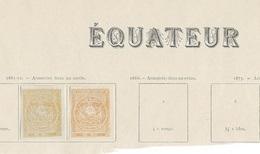 ÉQUATEUR - N° 3  - Deux Couleurs - Ecuador