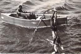 CARAÏBES ( Antilles Néerlandaises ) : Money Divers / Plongeurs - CPSM PF 1964 ( Caribbean Caraïbes Karibik ) Nederland - Antilles Neérlandaises