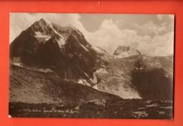 VARR-18 Sur Arolla Hérens, Monts Collon Depuis Lae Plan Bertol. Sepia.Cachet Evolène 1922.Perrochet-M. 8558 - VS Valais