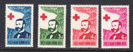 Vietnam 1960 Centenary Red Cross, Mint No Hinge, Sc# 136-139 - Viêt-Nam