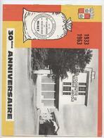 Muret, Coopérative De Meunerie Agricole, Fondée Par Vincent Auriol, 1933-1963, 8 Pages De Photos - Documents Historiques