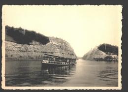 Lanaye / Ternaaien - Canal Albert - La Grande Tranchée De Lanaye - Le Bateau Touriste Canne - Visé - Liège - Wezet