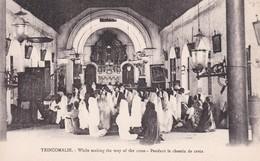 TRINCCOMALIE  -- WAY OF THE CROSS __  CHEMIN DE CROIX - Sri Lanka (Ceylon)