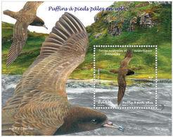 TAAF 2019 - Puffins à Pieds Pâles En Vol Sheet Mnh - Tierras Australes Y Antárticas Francesas (TAAF)