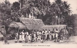 TRINCOMALIE  --  NATIVE HUTS __ HUTTES - Sri Lanka (Ceylon)